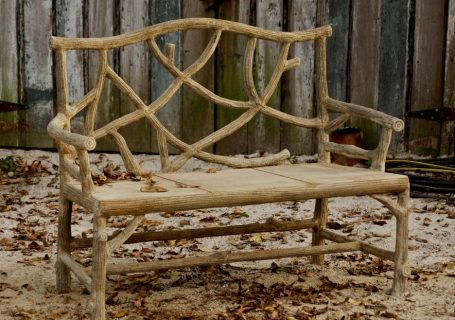 Faux Bois Furnishings, Tables and Benches